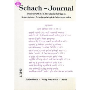 Schach-Journal 1993/1