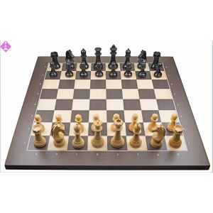 PC-Brett USB  Wenge / Figuren FIDE