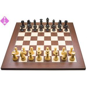PC-Brett Bluetooth Rosenholz / Figuren FIDE