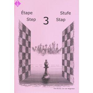 Schach lernen - Stufe 3 (Step/Stap/Étape)