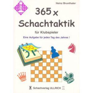 365 x Schachtaktik für Klubspieler