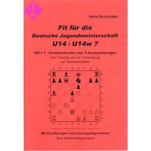 Fit für die Deutsche Jugendmeisterschaft U14/U14w