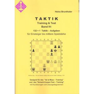 Taktik - Training & Test / Band IV
