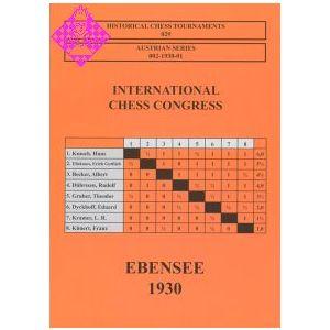 Ebensee 1930 - International Chess Congress