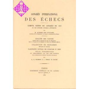 Congrès International DES ÉCHECS Paris 1867