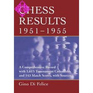 Chess Results, 1951 - 1955