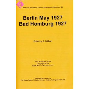 Berlin May 1927, Bad Homburg 1927