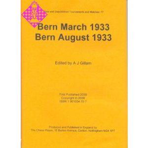 Bern March 1933 / Bern August 1933