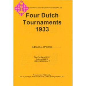 Dutch Tournaments (4) 1933
