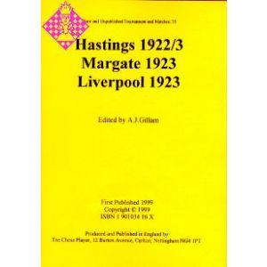 Hastings 1922/3, Margate 1923, Liverpool 1923