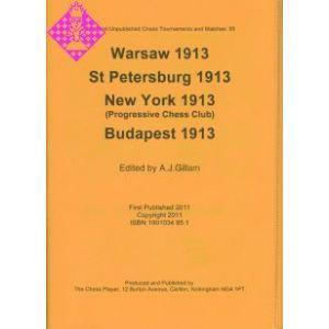 Warsaw 1913; St. Petersburg 1913;