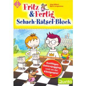 Fritz & Fertig Schach-Rätsel-Block 1