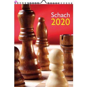Wandkalender Schach 2020 (A3)