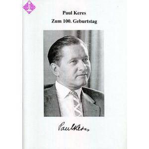 Zum 100. Geburtstag von Paul Keres