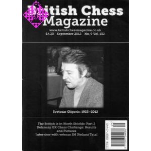 British Chess Magazine September 2012