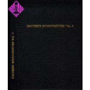 Baltische Schachblätter Vol. 4 / 1905-1908