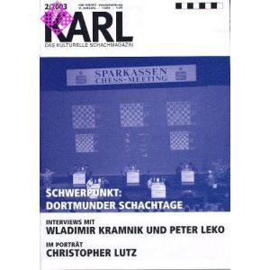 Karl - Die Kulturelle Schachzeitung 2003/2