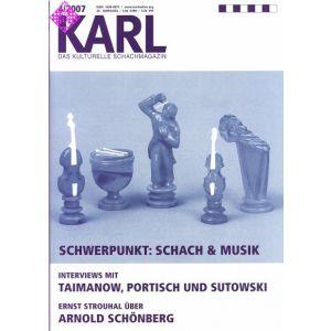 Karl - Die Kulturelle Schachzeitung 2007/4