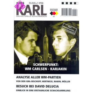 Karl - Die Kulturelle Schachzeitung 2016/4