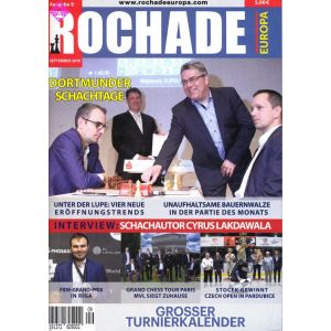 Rochade Europa / September 2019