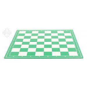 Schachplan, klappbar, grün/weiß