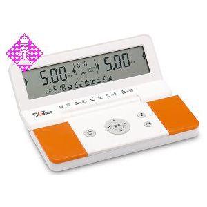 DGT 960 Schachuhr, weiß/orange