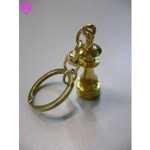 Schlüsselanhänger, Dame, golddfarben