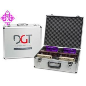 Transportkoffer, Alu für 10 DGT-Uhren