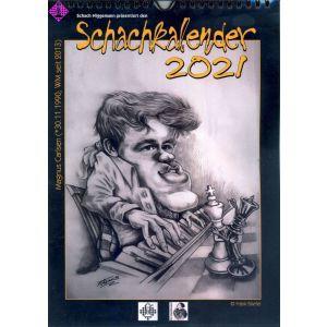 Wandkalender Schachmeister 2021 A4
