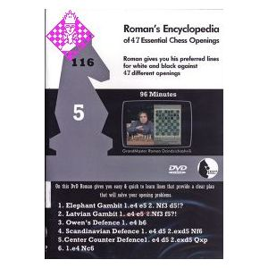 Roman's Encyclopedia of 47 Essential Chess Opening