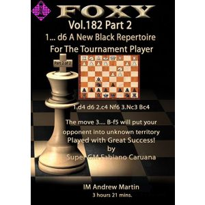 1. ...d6 - A New Black Repertoire - Part 2