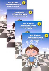 Der Kinder-Schachlehrgang - Hefte 1-4