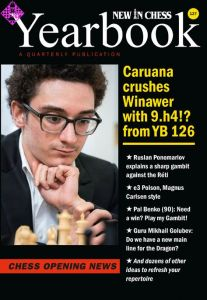 New in Chess Yearbook 127 -hardcover-