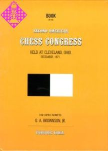 Second American Chess Congress Cleveland 1871