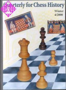 Quarterly for Chess History 4