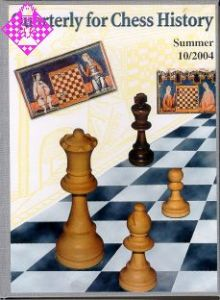Quarterly for Chess History 10