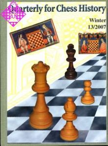 Quarterly for Chess History 13 13