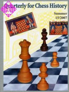 Quarterly for Chess History 15