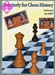 Quarterly for Chess History 16