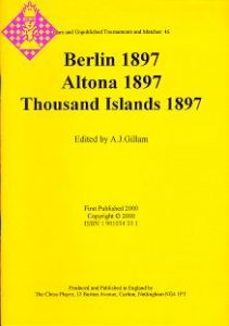 Berlin 1897 /Altona 1897 /Thousand Island 1897