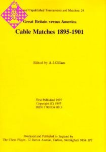 Cable Matches 1895-1901
