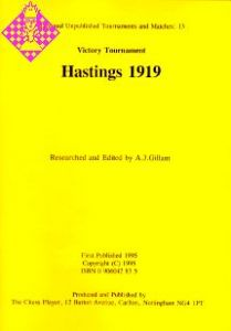 Hastings 1919 Victory Tournament