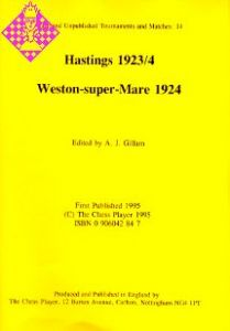 Hastings 1923/4, Weston-super-Mare 1924