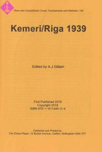 Kemeri/Riga 1939