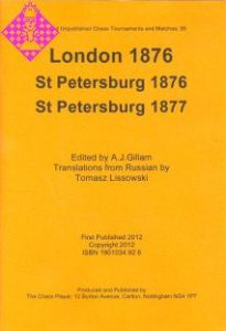 London 1876, St. Petersburg 1876,