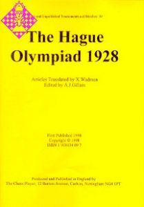 The Hague Olympiad 1928