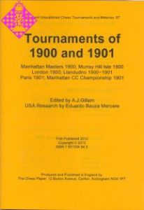 Tournaments of 1900 and 1901