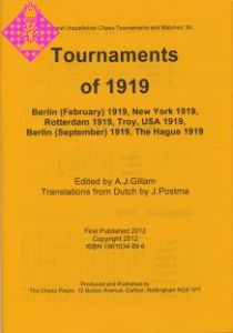 Tournaments of 1919