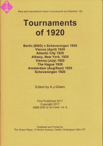 Tournaments of 1920