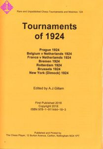 Tournaments of 1924